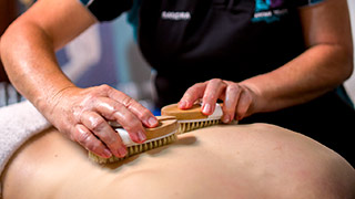 Enjoy the Aroma Touch body brushing treatment at Aroma Touch Massage, Beauty & Remedial Therapies