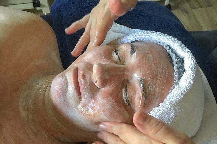 facial-treatment at Aroma Touch Massage & Relaxation Centre