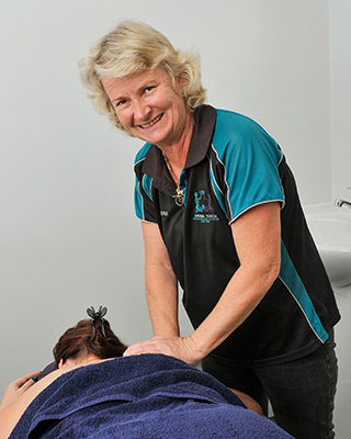 Sandra Forster, owner of Aroma Touch Massage, Beauty & Remedial Therapies
