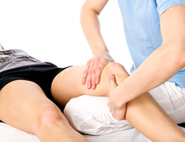 Joint treatment at Aroma Touch Massage & Relation Centre